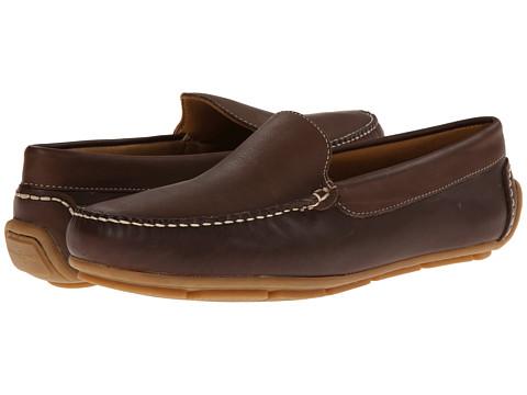Minnetonka - Venice Driving Moc (Dark Brown Smooth Leather) Men