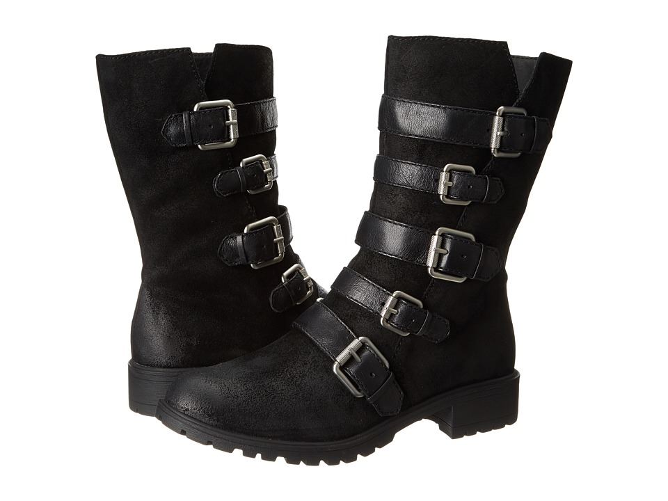 Naya Darryn (Black Oiled Suede/Leather) Women