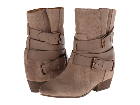 Naya - Fisher Hidden Wedge Boot (Truffle Taupe Oiled Suede/Leather) Women's Shoes