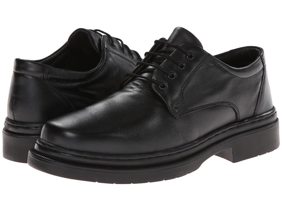 Giorgio Brutini - 24557 (Black Sheepskin) Men's Lace up casual Shoes