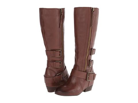 Naya - Frankie (Bridal Brown Leather) Women's Zip Boots