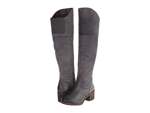 Naya - North (Graphite Lead Leather/Oiled Suede) Women's Pull-on Boots