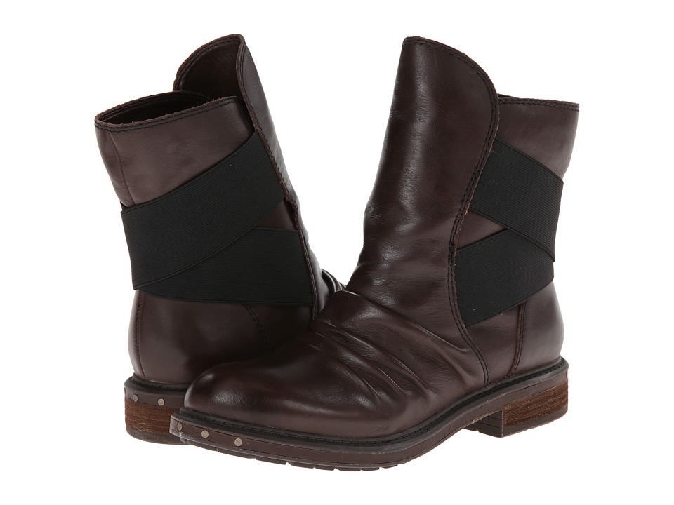 Naya - Retro (Oxford Brown Leather) Women's Pull-on Boots