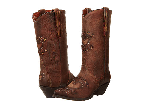 Dan Post - Shabby Chic (Chocolate) Women's Boots