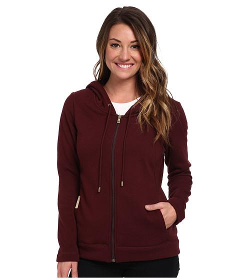 UGG - Benson Hoodie (Port) Women's Sweatshirt