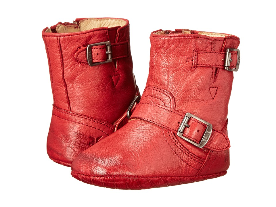 Frye Kids - Engineer Bootie (Infant/Toddler) (Burnt Red) Kids Shoes