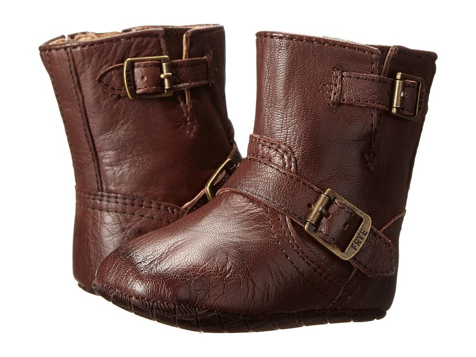 Frye Kids - Engineer Bootie (Infant/Toddler) (Dark Brown) Kids Shoes