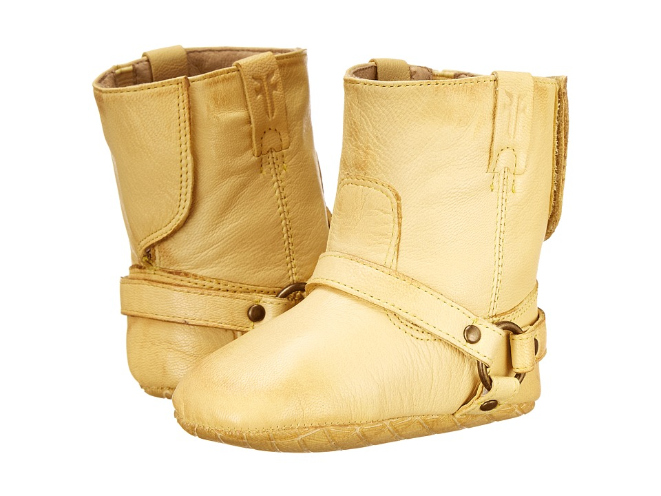 Frye Kids - Harness Bootie (Infant/Toddler) (Yellow) Kids Shoes