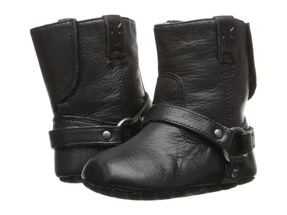 Frye Kids - Harness Bootie (Infant/Toddler) (Black) Kids Shoes