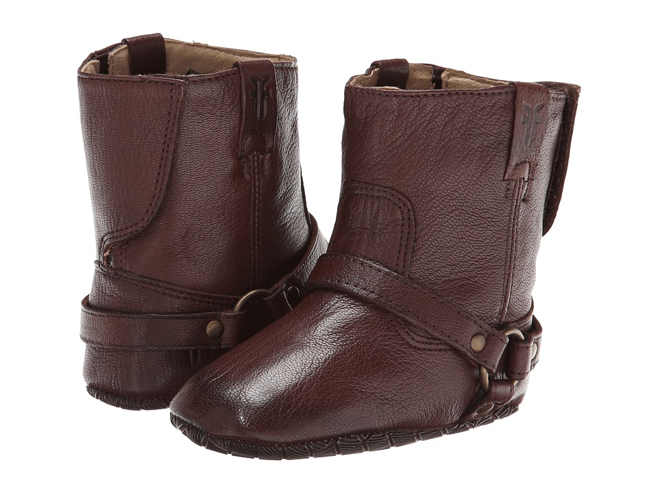 Frye Kids - Harness Bootie (Infant/Toddler) (Dark Brown 2) Kids Shoes