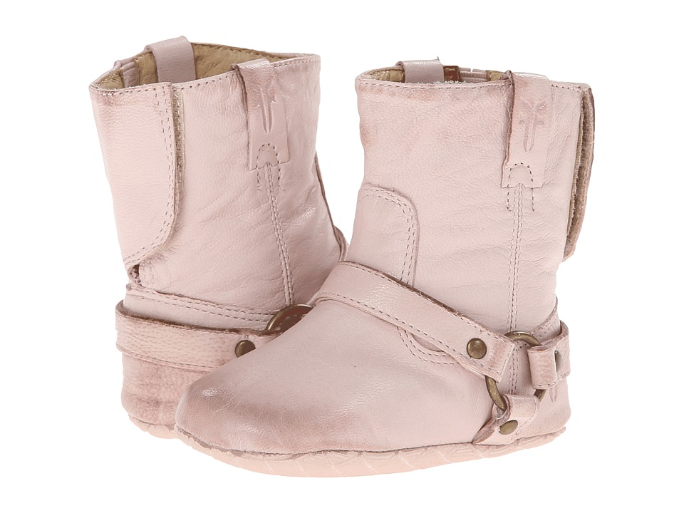 Frye Kids - Harness Bootie (Infant/Toddler) (Light Pink) Girls Shoes
