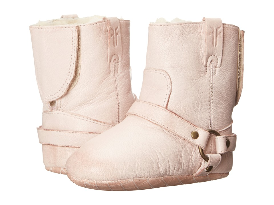 Frye Kids - Harness Bootie Shearling (Infant/Toddler) (Light Pink) Girls Shoes