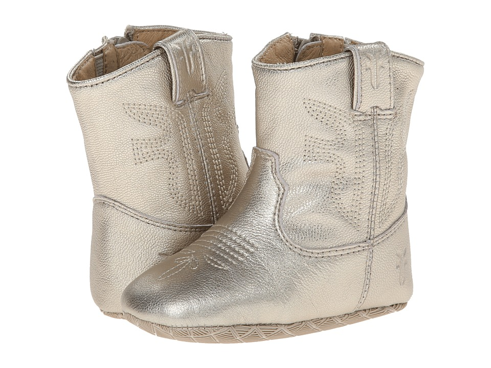 Frye Kids - Rodeo Bootie (Infant/Toddler) (Gold) Kid's Shoes