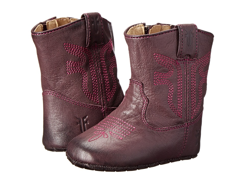 Frye Kids - Rodeo Bootie (Infant/Toddler) (Plum 2) Girl's Shoes