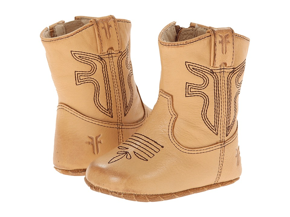 Frye Kids - Rodeo Bootie (Infant/Toddler) (Tan 2) Kid's Shoes