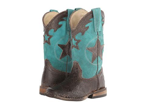 Roper Kids - Star (Toddler/Little Kid) (Brown) Cowboy Boots