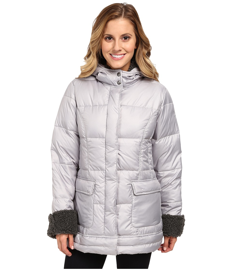 UGG - Clementina Coat (Feather/Charcoal) Women's Coat