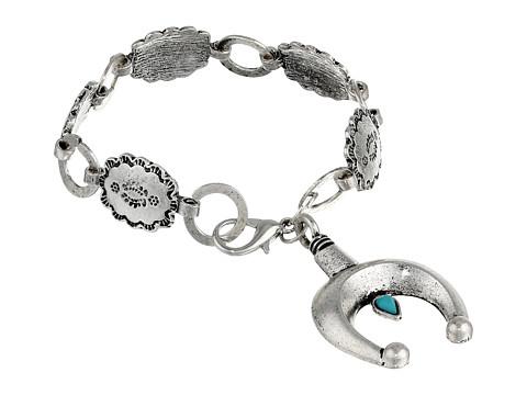 Gypsy SOULE - Squashblossom Horseshoe Bracelet (Silver) Bracelet