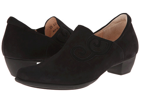 Think! - Bee Swirl Slip On Pump - 83142 (Schwarz) Women