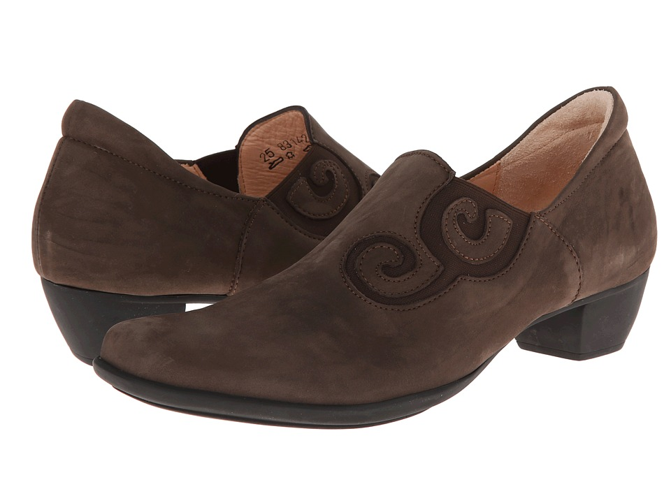 Think! - Bee Swirl Slip On Pump - 83142 (Espresso) Women's Shoes
