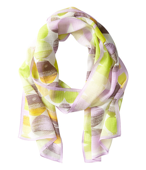 Echo Design - Ombre Stacked Dots Scarf (Chartreuse) Scarves