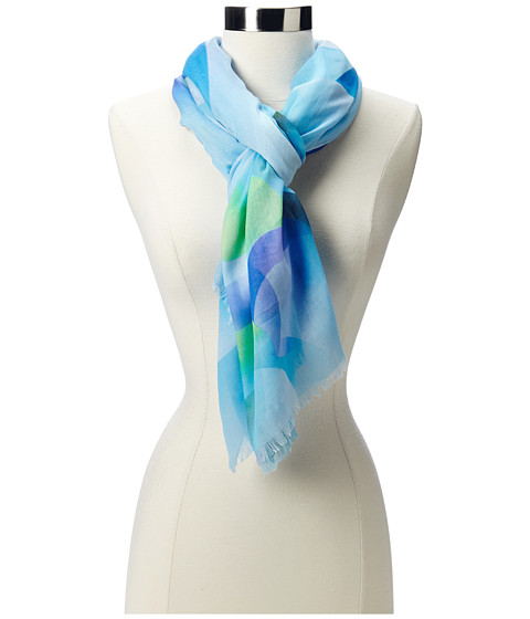 Echo Design - Colorful Bubbles Wrap (Turquoise) Scarves