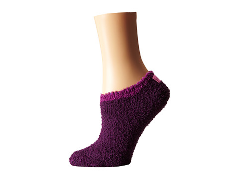Life is good - Lightweight Snuggle Low Cut Sock (Deepest Plum) Women's Low Cut Socks Shoes