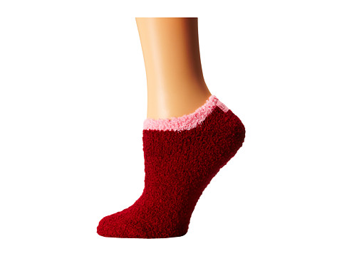 Life is good - Lightweight Snuggle Low Cut Sock (Fresh Cranberry) Women
