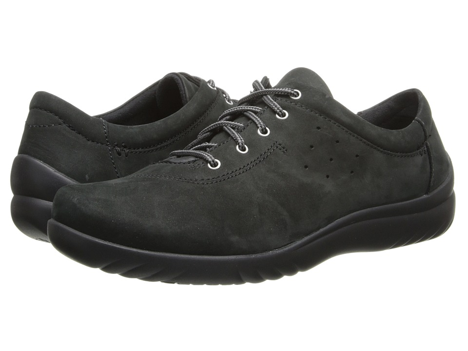 Klogs Footwear - Pisa (Black) Women's Lace up casual Shoes
