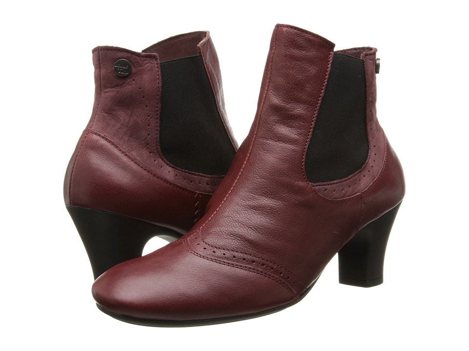 Think! Heah Slip On Ankle Boot 83209 (Chianti/Kombi) Women