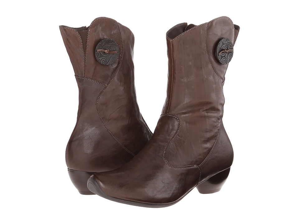 Think! - Aida Mid Bootie - 83266 (Caf /Kombi) Cowboy Boots