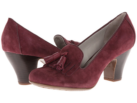 Hush Puppies - Lonna Pump KL (Plum Suede) Women's Shoes