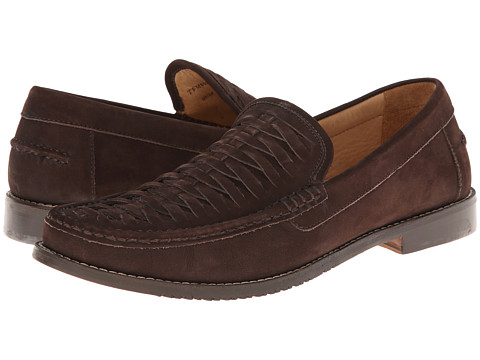 Tommy Bahama - Fynn Slipon (Dark Brown) Men's Slip on Shoes