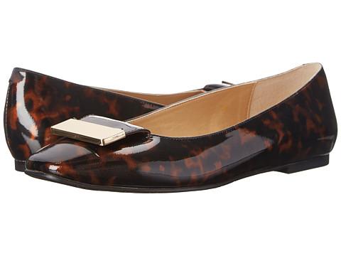 Vaneli - Jalo (Tortoise Patent) Women's Flat Shoes