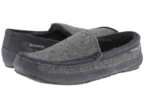 Bearpaw - Peeta (Charcoal/Grey Wool) Men's Shoes