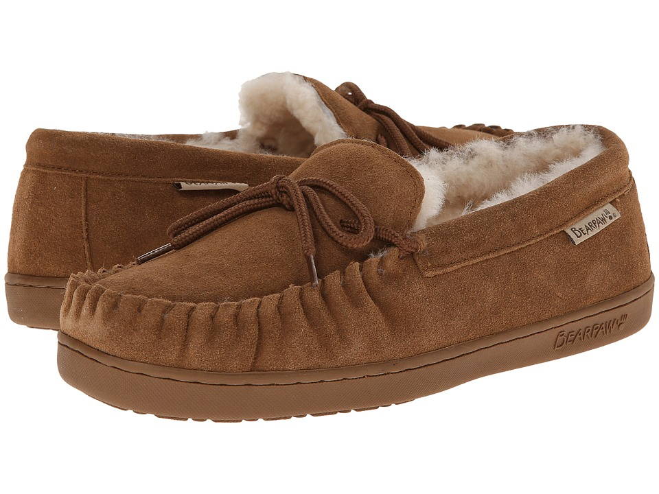 Bearpaw - Moc II (Hickory) Men's Slip on Shoes