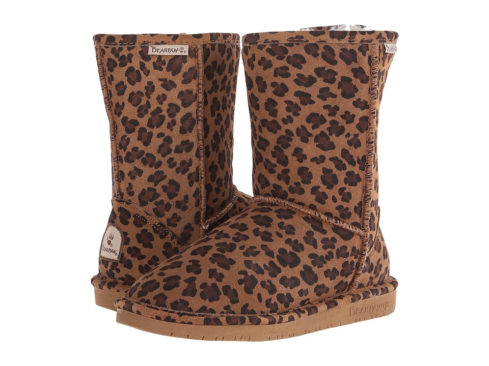 Bearpaw Emma Short (Hickory Leopard) Women