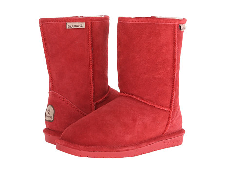 Bearpaw - Emma Short (Cranberry) Women's Pull-on Boots