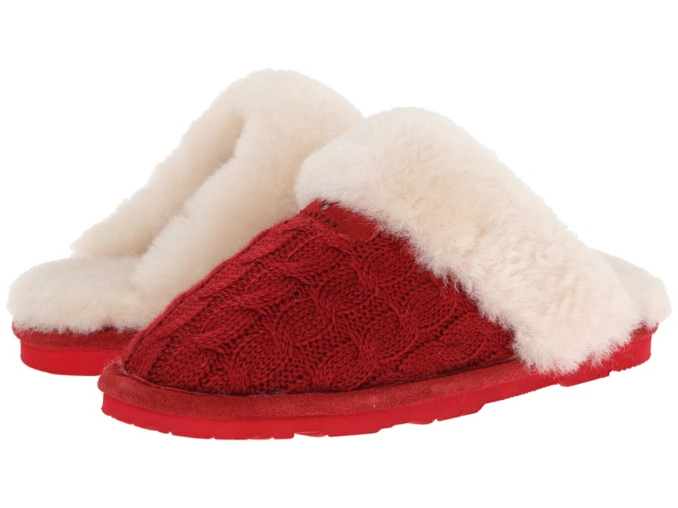 Bearpaw - Effie (Cranberry) Women