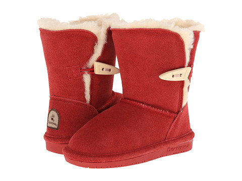 Bearpaw Kids - Abigail (Toddler) (Cranberry) Girls Shoes