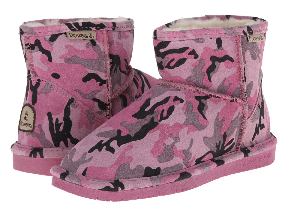Bearpaw - Demi (Pink Camo) Women