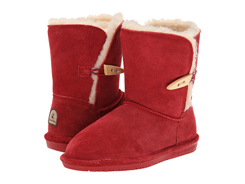 Bearpaw Kids - Abigail (Little Kid/Big Kid) (Cranberry) Girls Shoes