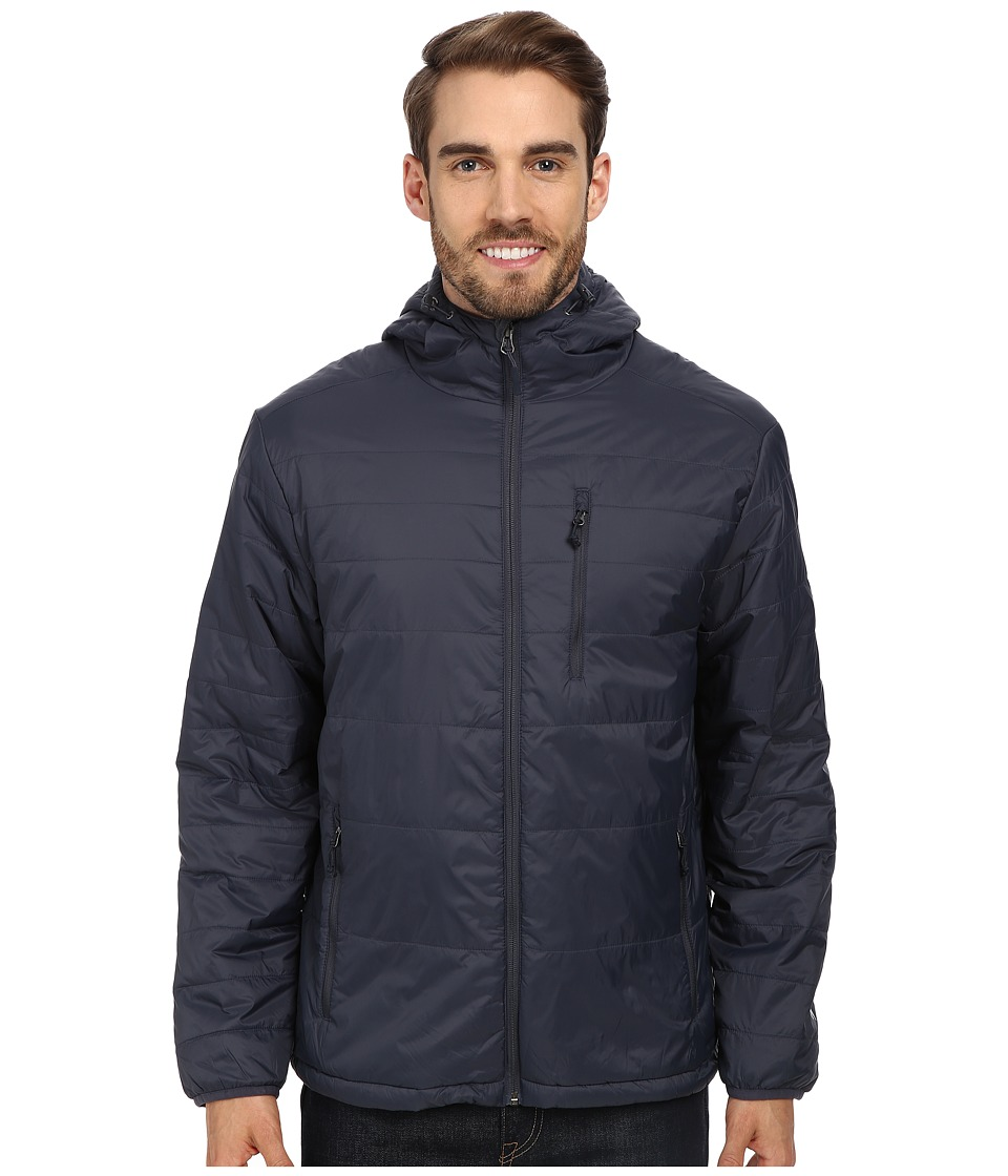 White Sierra - Peak Packable Hooded Jacket (Titanium) Men's Jacket