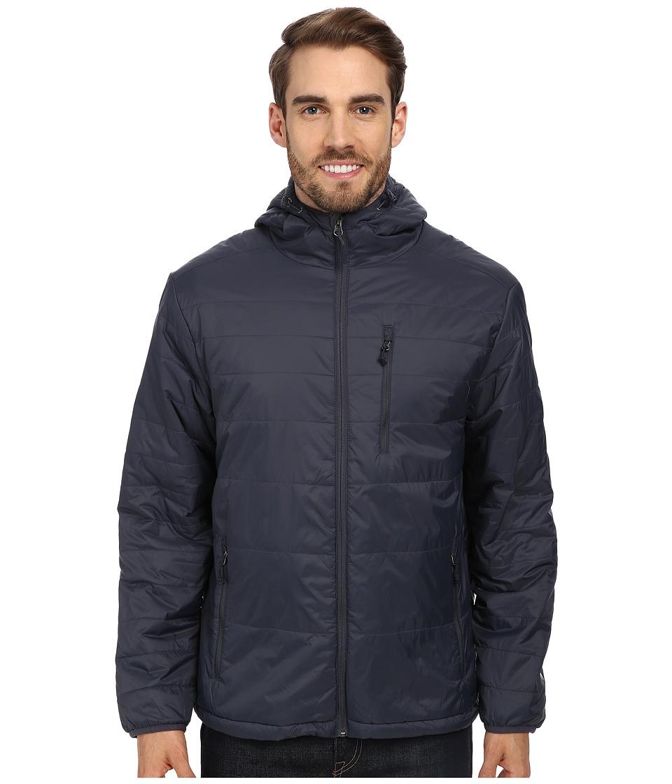 White Sierra - Peak Packable Hooded Jacket (Titanium) Men's Jacket