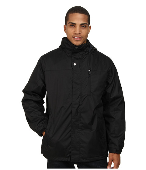 White Sierra - Three Season Jacket (Black) Men's Coat