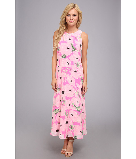 French Connection - Holiday Poppy Silk 71BOP (Spring Break Multi) Women's Dress