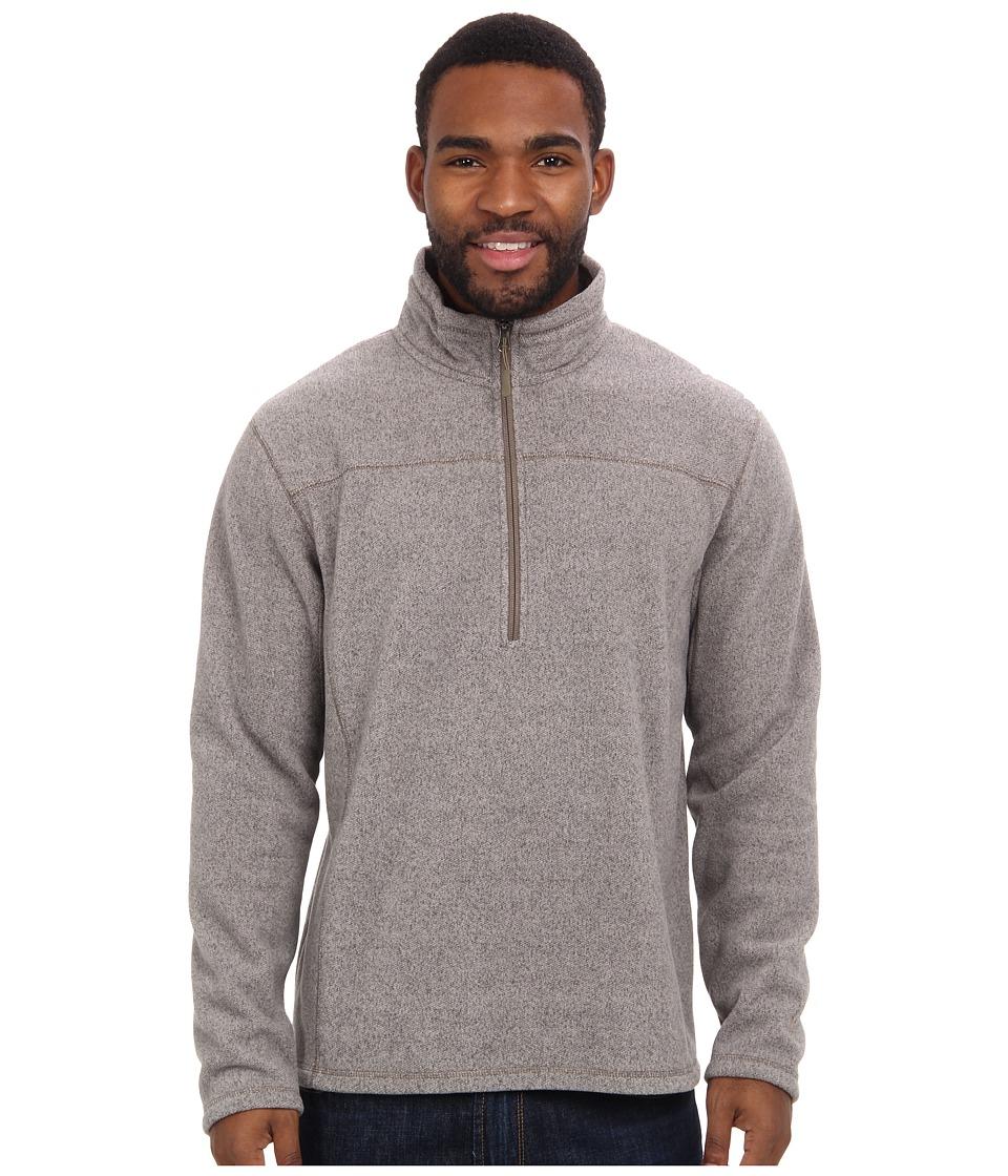 White Sierra - Cloud Rest Quarter Zip (Humus) Men's Long Sleeve Pullover