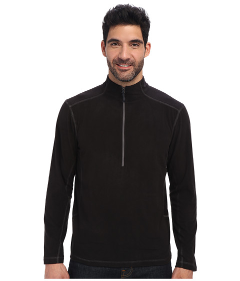White Sierra - Microtek Fleece Quarter Zip (Black) Men
