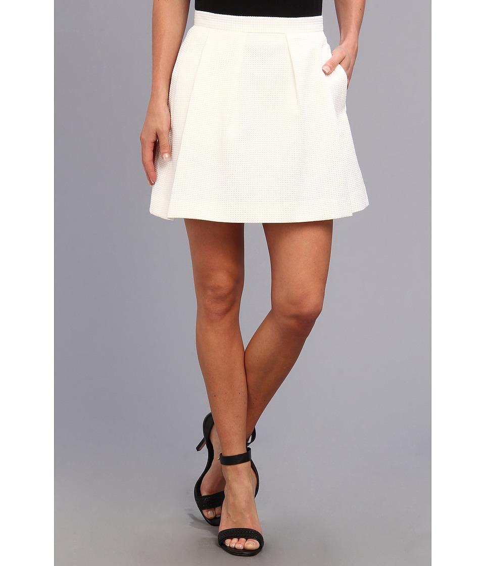 French Connection - Sunshine Walk 73BND (White) Women's Skirt