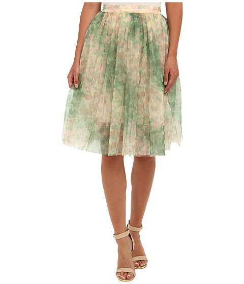 French Connection - Florida Bloom Mesh 73BNR (Sweet Apple Multi) Women's Skirt